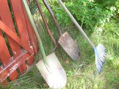 Puutarhatyökaluja