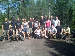 Kesäpäivä 2011 osallistujia.
