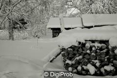 Talvista maisemaa