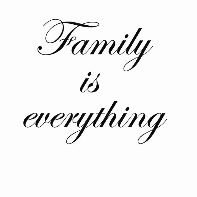 family is everything 60cm sisustustarrat ja sein tarrat dr decor. Black Bedroom Furniture Sets. Home Design Ideas