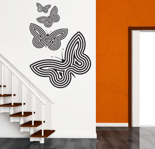 Perhoset  seinätarrat  Sisustustarrat ja seinätarrat  Dr Decor
