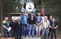 Ruotsin 1. ja 2. ja Suomen 1.-joukkue