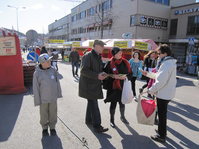 Kiertueella Lohjalla 10.4.2011