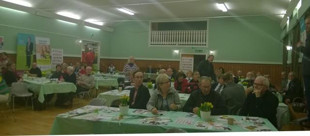 Vaali-ilta Nurmijärvellä