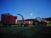 Yötöissä pellolla