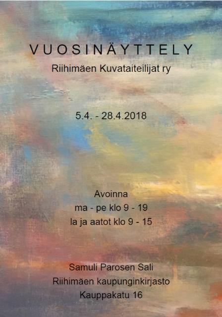 kutsu_rikuta_vuosinayttely_2018