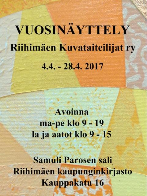 kutsu_rikuta_vuosinayttely_2017
