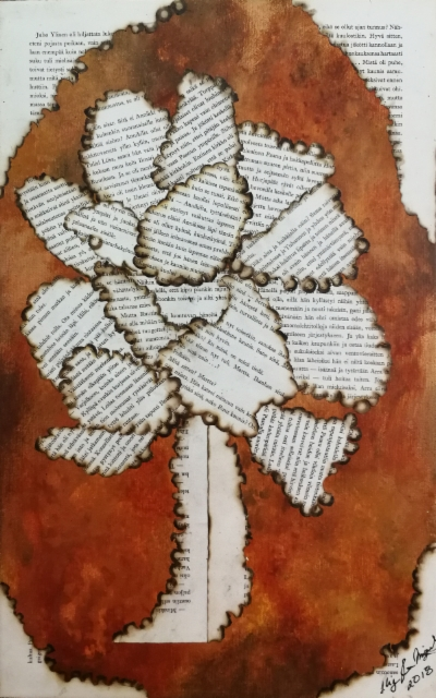 tulen_puraisema_puu_paper_and_acrylic_on_canvas_43x28cm2018