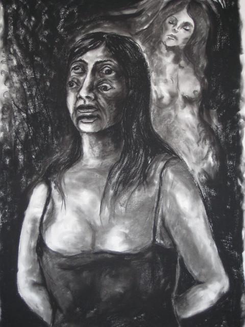 Nainen puhuu peloistaan