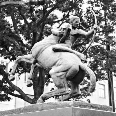 Arcum tendit Apollo, Lastenlehdonpuisto, Helsinki