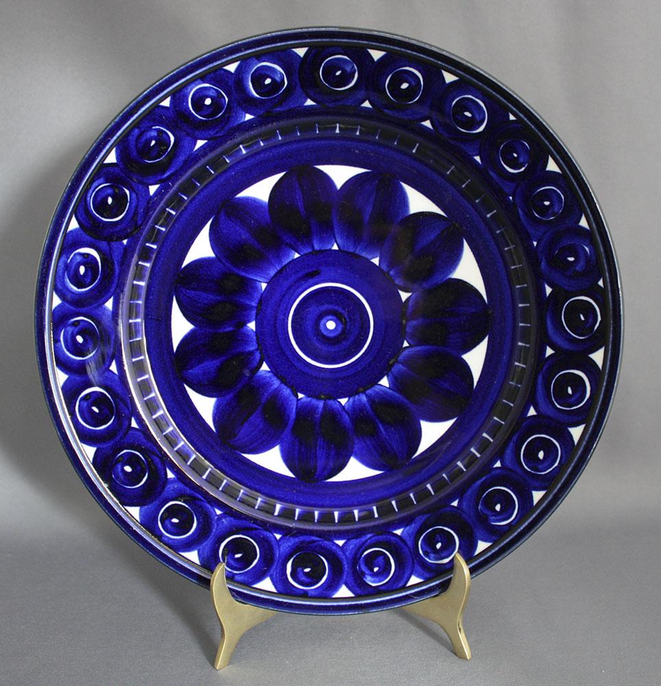 Arabia Valencia Salad Plate