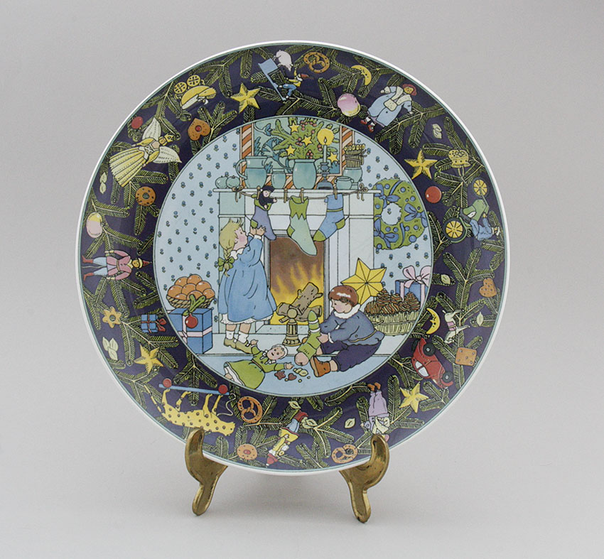 christmas plate christmas in europe villeroy boch