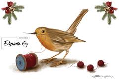 Design Ladybag's Christmas card 1