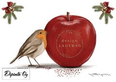 Design Ladybag's Christmas card 3