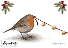 Design Ladybag's Christmas card 4