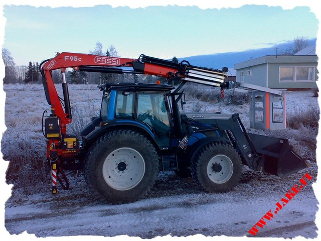 JAKE 800 LC, Fassi 95C, Valtra N141h