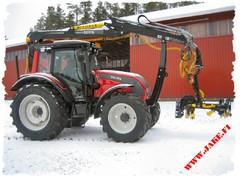 JAKE Forest Tank 210 litr + JAKE 800 + Boom Support, Valtra N1