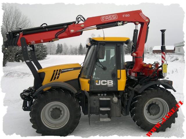 JAKE 800 LC + Boom Support, Fassi F150, JCB Fastrac 3230 Xtra