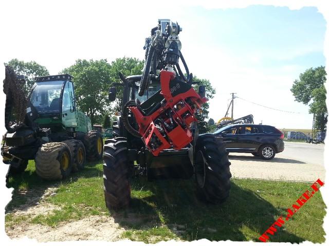 JAKE 800 + Boom Support, Kronos 8020, Valtra N3V, Poland