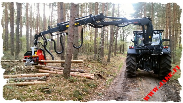 JAKE 800 + Boom Support, Palms 940, Valtra N3h, Poland