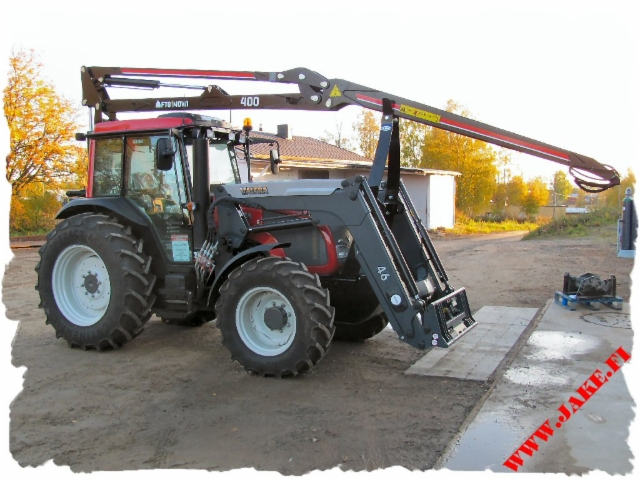 JAKE 600 + Boom Suport, Mowi 400, Valtra A93h
