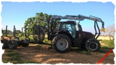 JAKE 904 + Boom Support + HD Legs + Wheel Weights, Kesla 316, Valtra T174A, Brazil