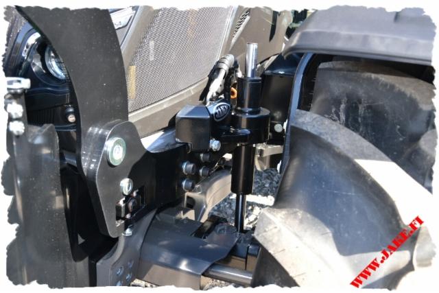 JAKE SPN Axle Stabilizer + JAKE 804 + Forest Tank 218 L, Valtra N154D