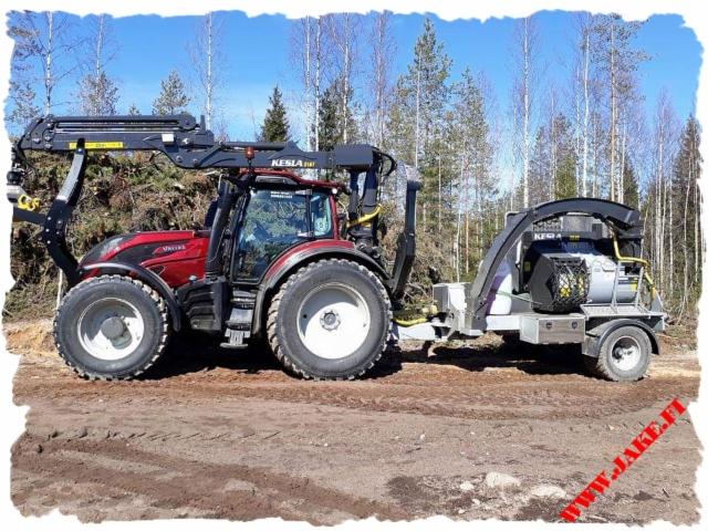 JAKE 904 + Boom Support + HD Legs, Kesla 316T, Valtra T234D
