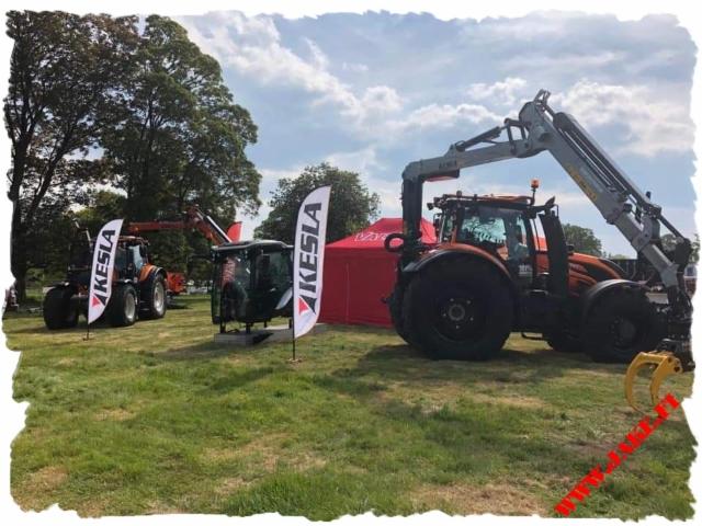 JAKE 904 + Boom Support, Kesla 316T, Valtra T254V, UK