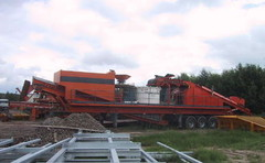 CANICA 105 crusher wagon