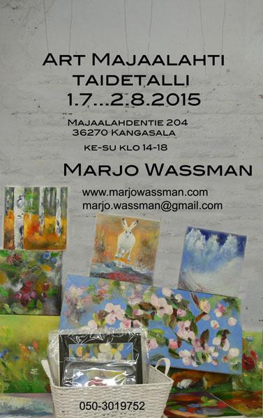Art Majaalahti, 2015 Taidetalli Kangasala