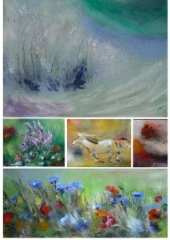 Flyer of my paintings