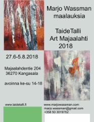 ArtMajaalahti 2018, TaideTalli Kangasala
