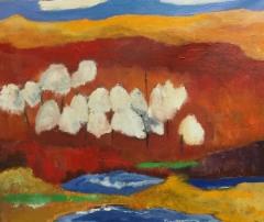 Svamp, 2019 oil on canvas 60 x 50 cm