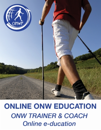 Online KANTANEVA OUTDOOR SPORTS / Nordic Walking TRAINER & COACH education / approved by ONWF