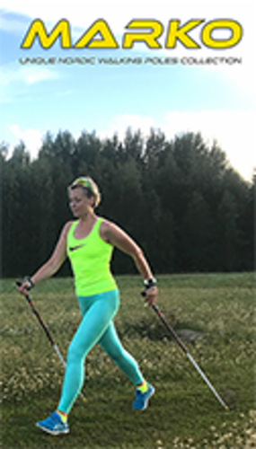MARKO unique nordic walking poles collection