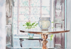 Mysore-watercolour 2, v. 2012, vesiväri paperille, 24,9 x 17,3cm, 430€, Asta Caplan