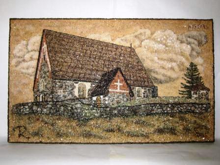 Saint_Olav's_church 50x83cm_2001
