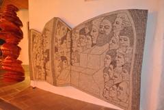 Freedom of speech Villa Urpo private art collection