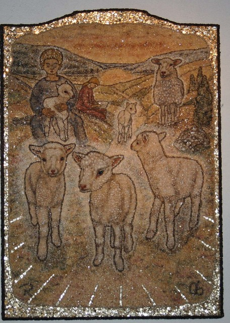 Altarpiece_Lambs_92x66_Ylinen Church_2006
