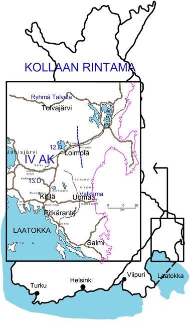 Kollaa front (picture: Kari Jylhä)