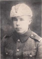 Conscript Simo Häyhä.