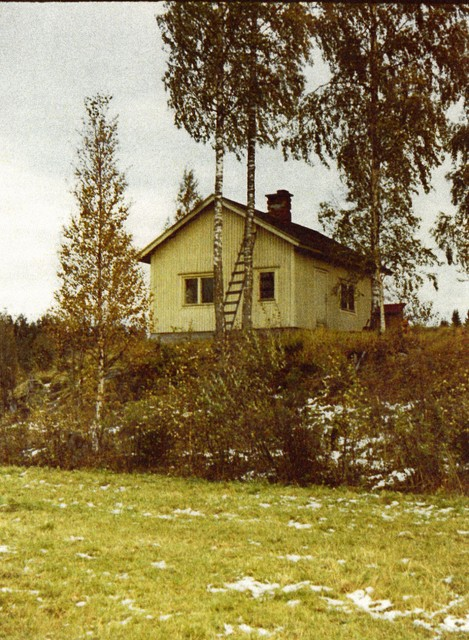 The cottage in Valkjärvi.