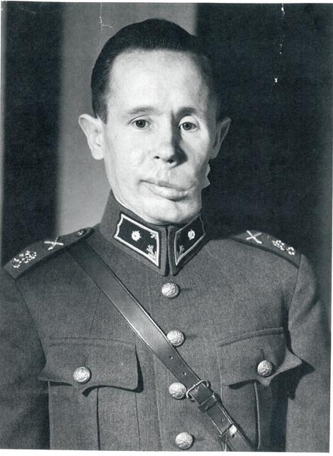 Second lieutenant Simo Häyhä.