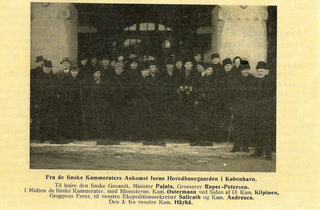 Rehabilitational trip to Denmark in 1940.