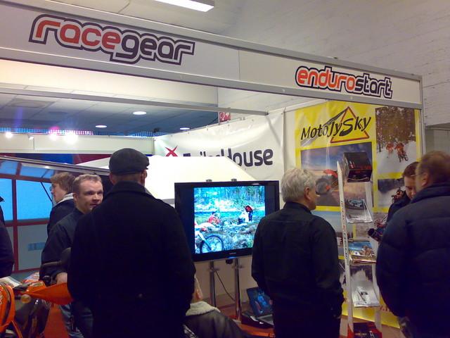 Racegear - Endurostart, Motorsportshow 2010