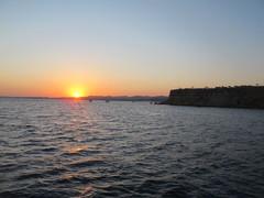 Auringon lasku Punaisella merellä