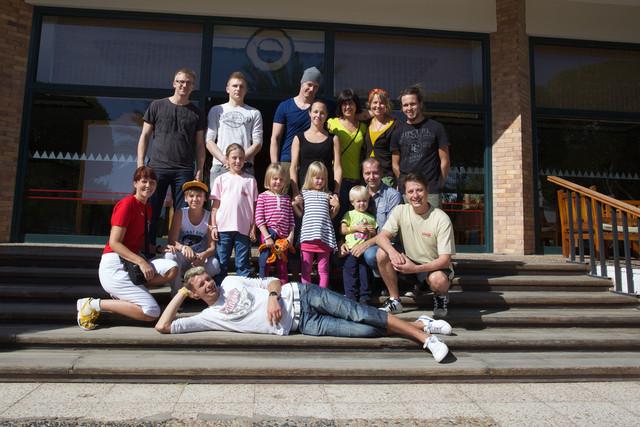 Ryhmäkuva EW Dive Sharm El Sheik 26.11-3.12.2012