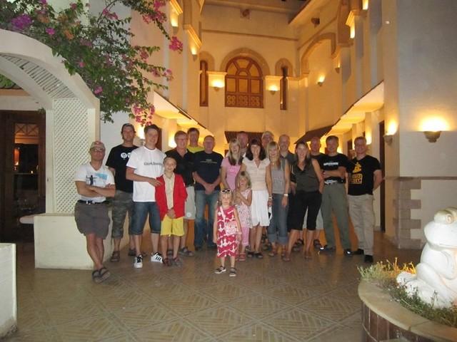 Sukelluskeskus EW Dive järjesti Sharm el Sheikhiin sukellusreissun 2010