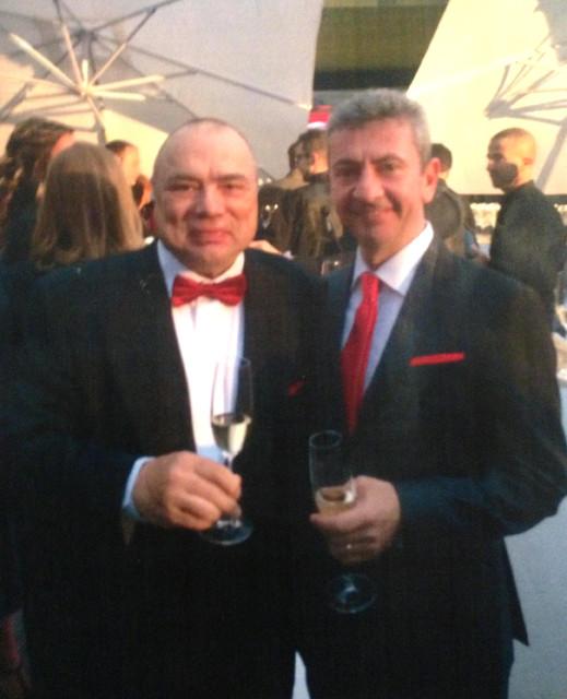 Italialainen, maailman johtava pneumatiikkavalmistaja Camozzi juhli 50 vuotista hienoa historiaansa Bresciassa - kuvassa toimitusjohtaja Marco Camozzi (oik.) ja AVS Yhtiöiden Antero Parma - hyvää yhteistyötä vuosikymmenten ajan (lue Fluid Finland 2/2014)
